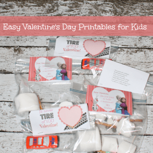 Easy Valentine's Day Printables for Kids