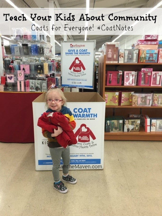 Teach Your Kids About Community – Donate a coat!