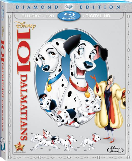 101 Dalmatians on Blu-Ray TODAY!