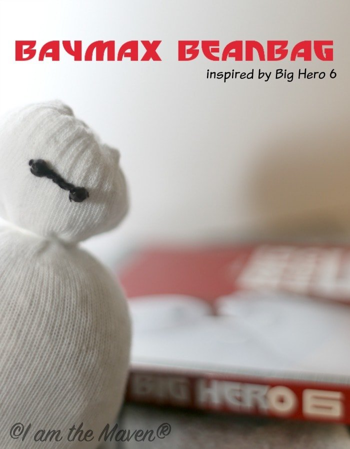 Make your very own BayMax Beanbag inspired by Big Hero 6! It's easy!  width=