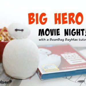 Join me for a #BigHero6MovieNight that's perfect for the kiddos #ad