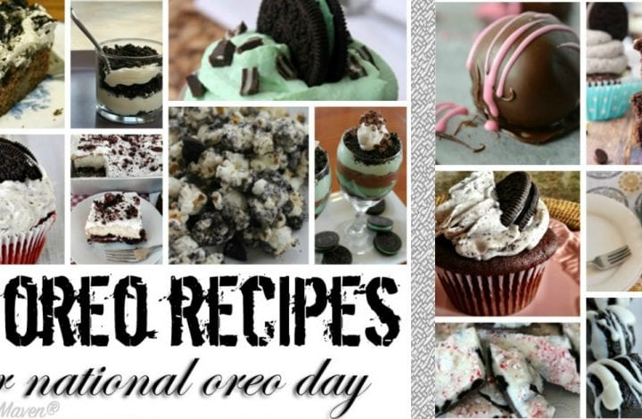 A collection of recipes for National Oreo Day.