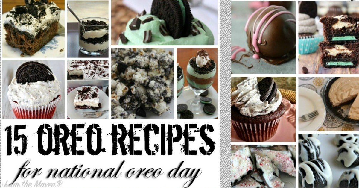 national oreo day recipes