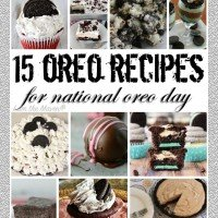 15 Oreo Recipes for National Oreo Day - Find them at I am the Maven®