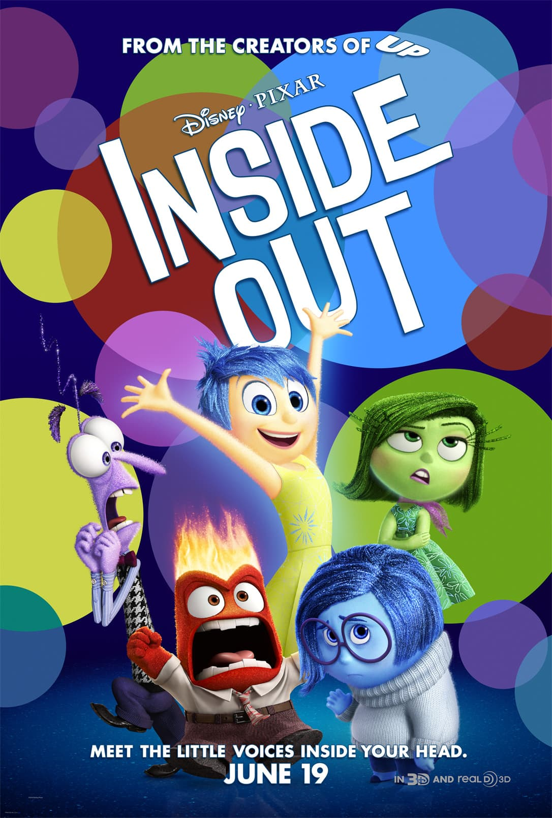 INSIDE OUT – Family Activity Sheets Now Available!!!