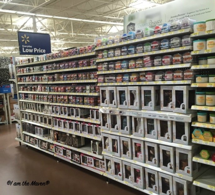 Find AromaBreeze at Walmart #WicklessWonders #ad