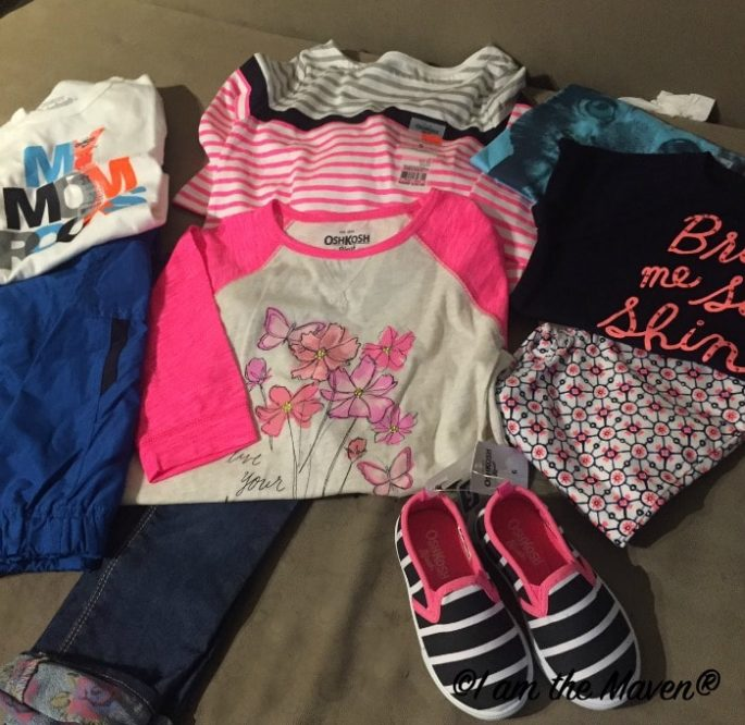 Super cute spring clothes from OshKosh Bgosh,#ImagineSpring #ad #ic