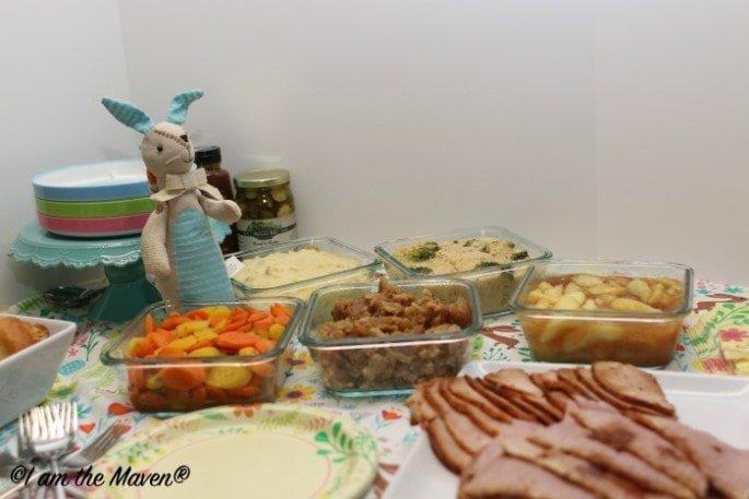 Delicious Easter Dinner #HoneyBakedEaster #ad