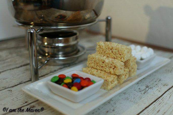 Rice Krispies Treats + Fondue = Fun Snack #KreateMyHappy #ad