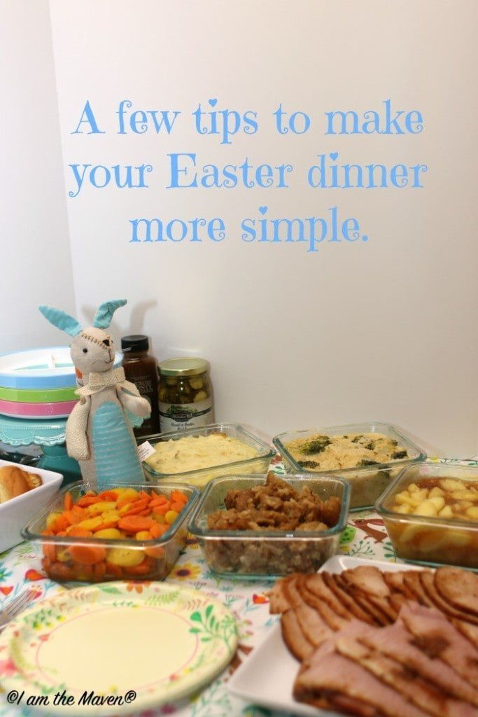 A few tips to make your Easter dinner more simple. #HoneyBakedEaster #ad
