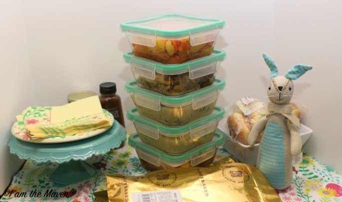 Dinner cleanup #HoneyBakedEaster #ad
