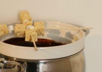 Feel Good Treat: Mexican Hot Chocolate Fondue