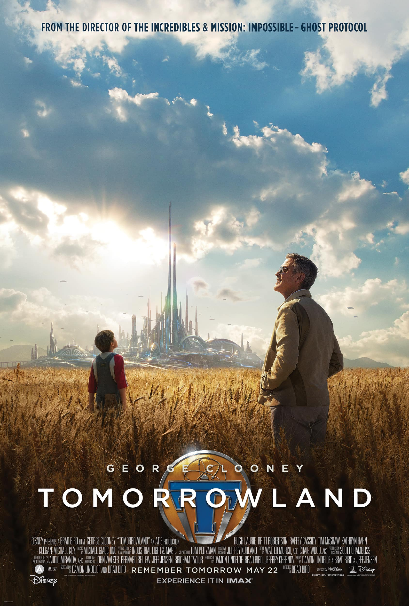 NEW TOMORROWLAND TRAILER (and it's awesome)
