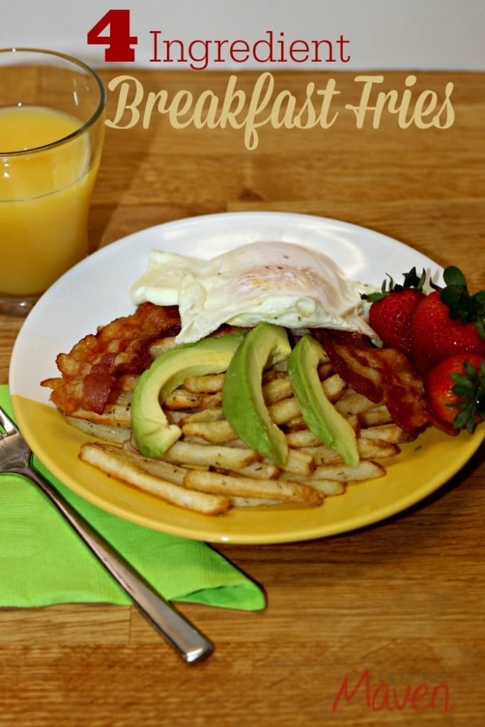 4 Ingredient Breakfast Fries by i am the Maven