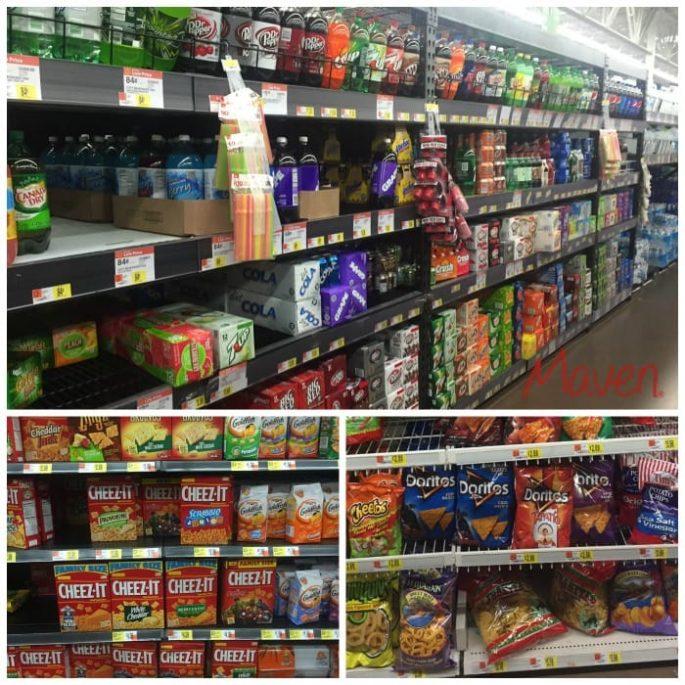 Get the Avengers snacks at Walmart #AvengersUnite #ad