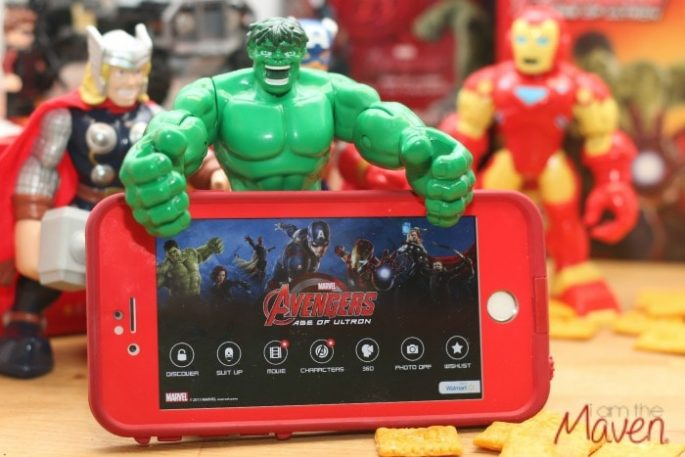 Download the Super Heroes Assemble app #AvengersUnite #ad
