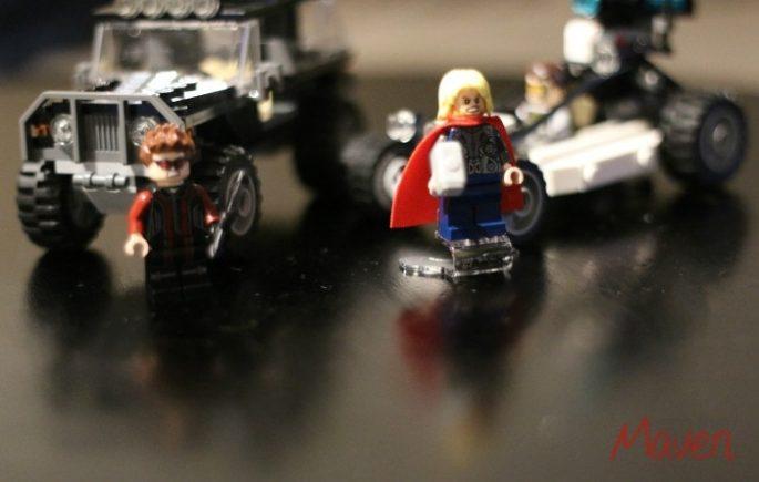 Fun with LEGOS #AvengersUnite #ad