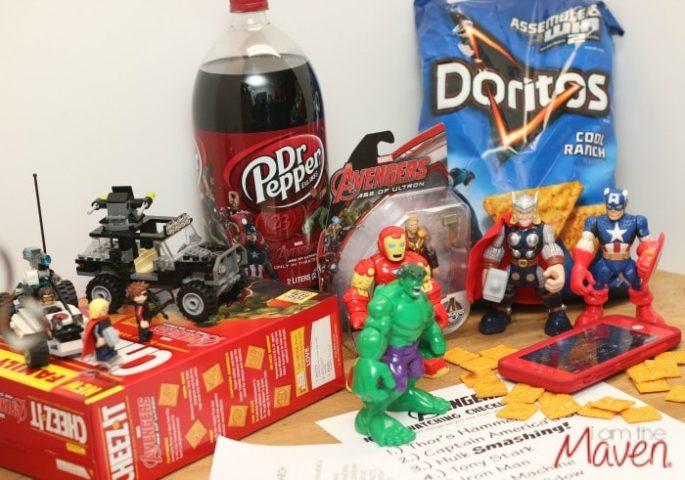 Grab some Avengers snacks! #AvengersUnite #ad