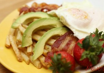 Delicious! 4 Ingredient Breakfast Fries #SpringIntoFlavor #ad