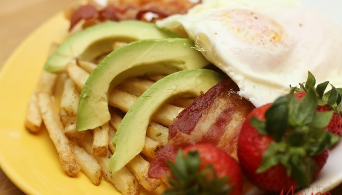 Delicious! 4 Ingredient Breakfast Fries #SpringIntoFlavor #ad