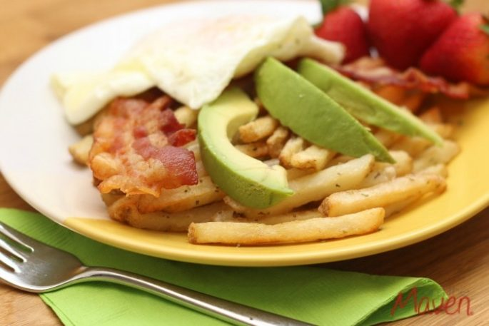 Enjoy this easy breakfast fries recipe #SpringIntoFlavor #ad