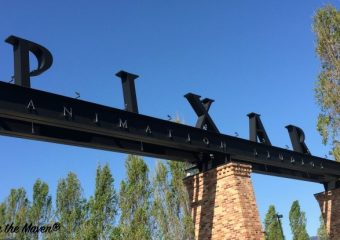 Entrance to Pixar #InsideOutEvent