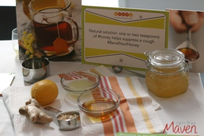 Honey is a great addition to a natural cough syrup. #benefitsofhoney