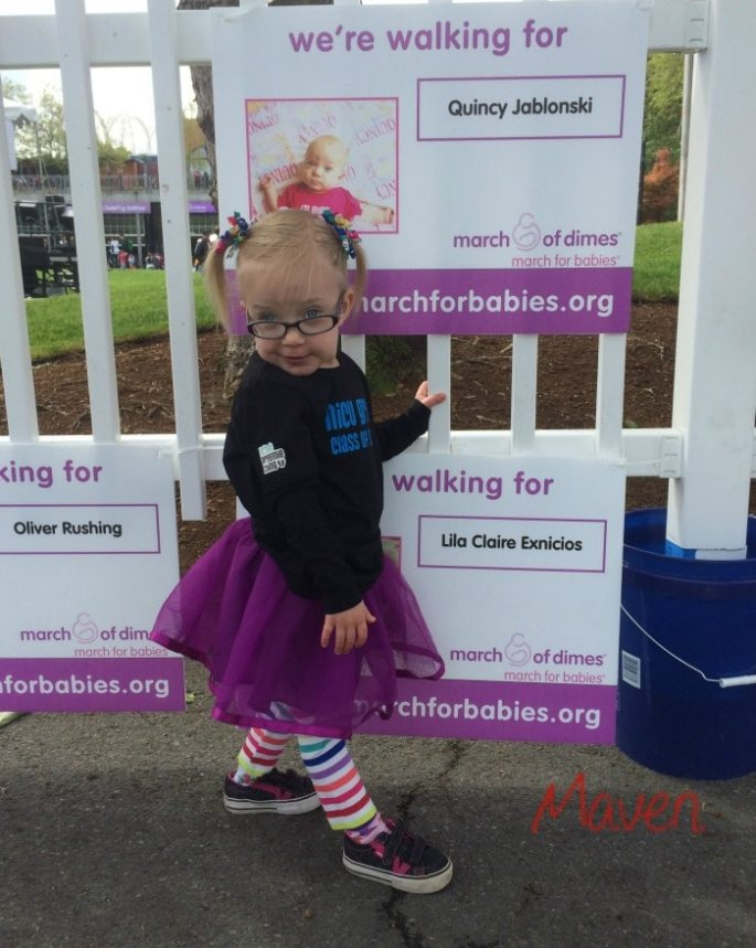 March for Babies - Seattle 2014