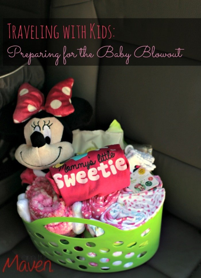 Don't even think about leaving on your next roadtrip without this baby blowout kit. You'll be sorry if you aren't ready! #MagicBabyMoments AD