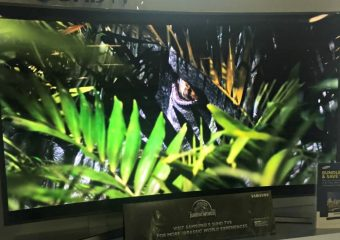 Don't miss the EXCLUSIVE Jurassic World clip on the new Samsung 4k SUHD TV at Best Buy
