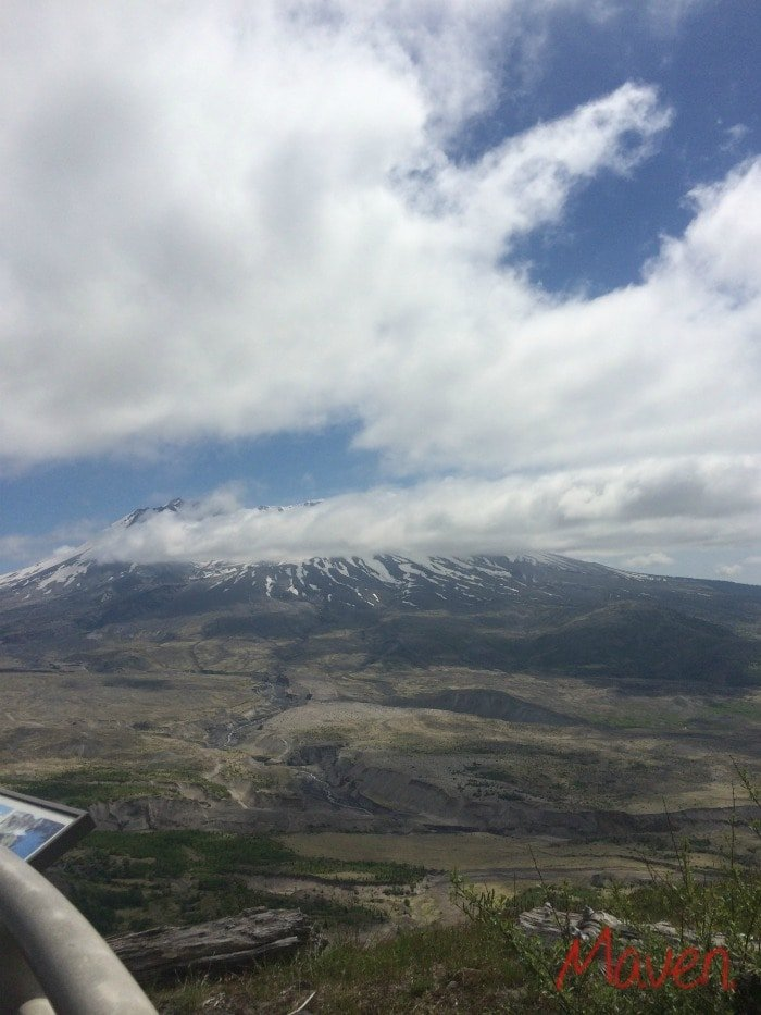 Don't miss sights like Mt St Helens when you go on a road trip!