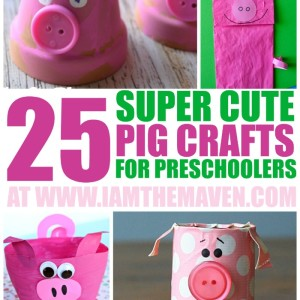 25 Super Cute Pig Crafts for Your Preschooler