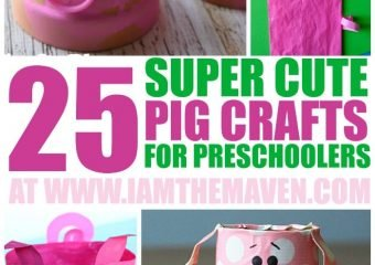 Super cute pig crafts and pig activities