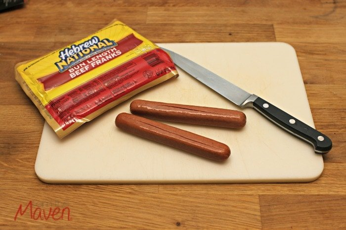 Step one, slice your hotdogs #WhataGrillWants AD