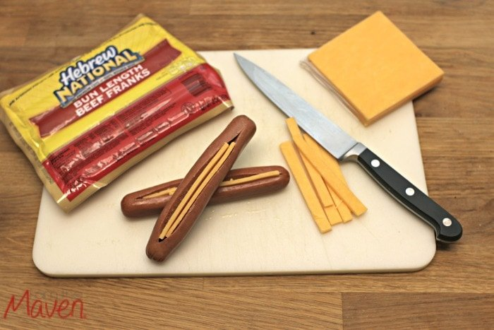 Step two, insert your cheese #WhataGrillWants AD