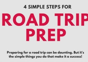 4 Simple Steps for Road Trip Prep