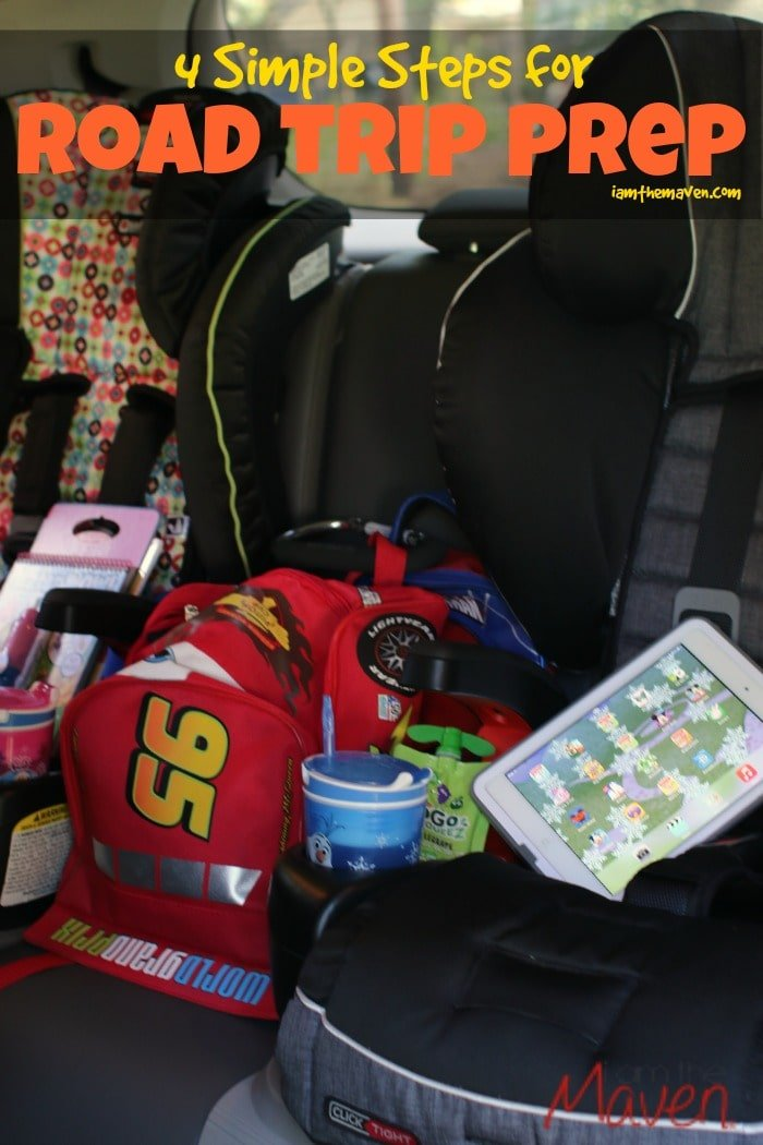 Check out these 4 simple steps for road trip prep