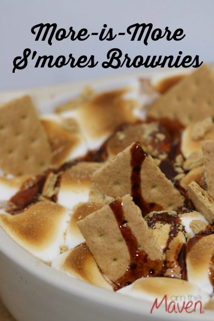 These S'more Brownies inspired by Inside Out are incredibly easy to make and so so delicious. You will not be disappointed. Unless you don't like chocolate.