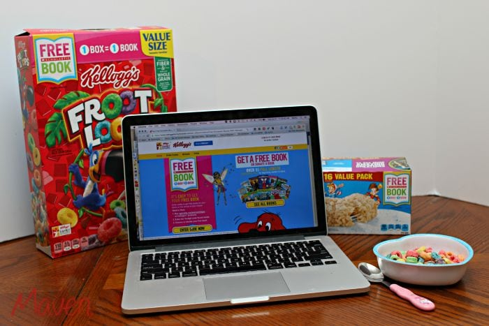Eat breakfast and get free books! #Back2SchoolReady AD