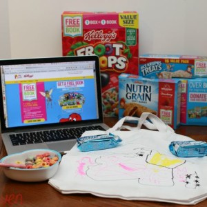 Make Reading Fun and Get Free Books from Kellogg's!