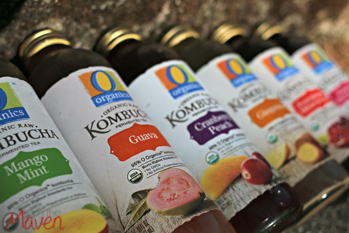 6 awesome flavors of O Organiics Kombucha now at Safeway! #OOrganicsKombucha AD
