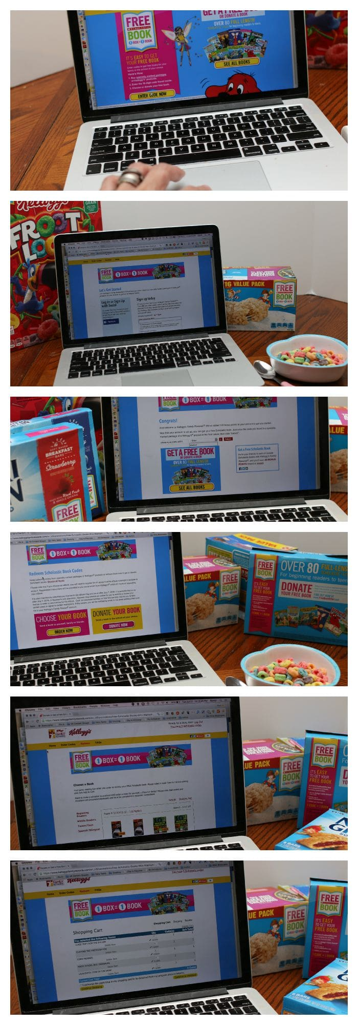 It's easy to sign up for free books online! #Back2SchoolReady AD
