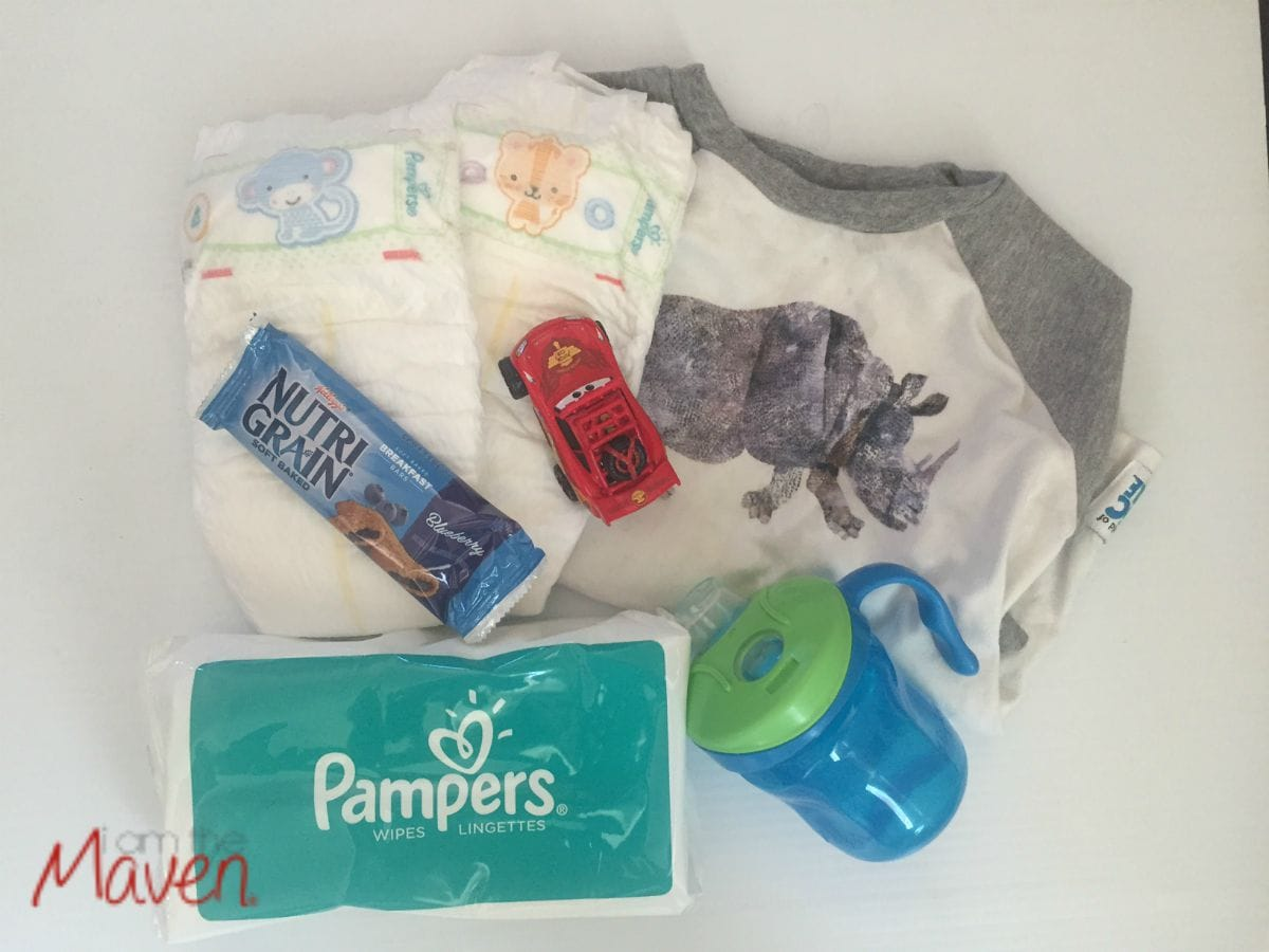 What's in the diaper bag? #MothersPromise AD