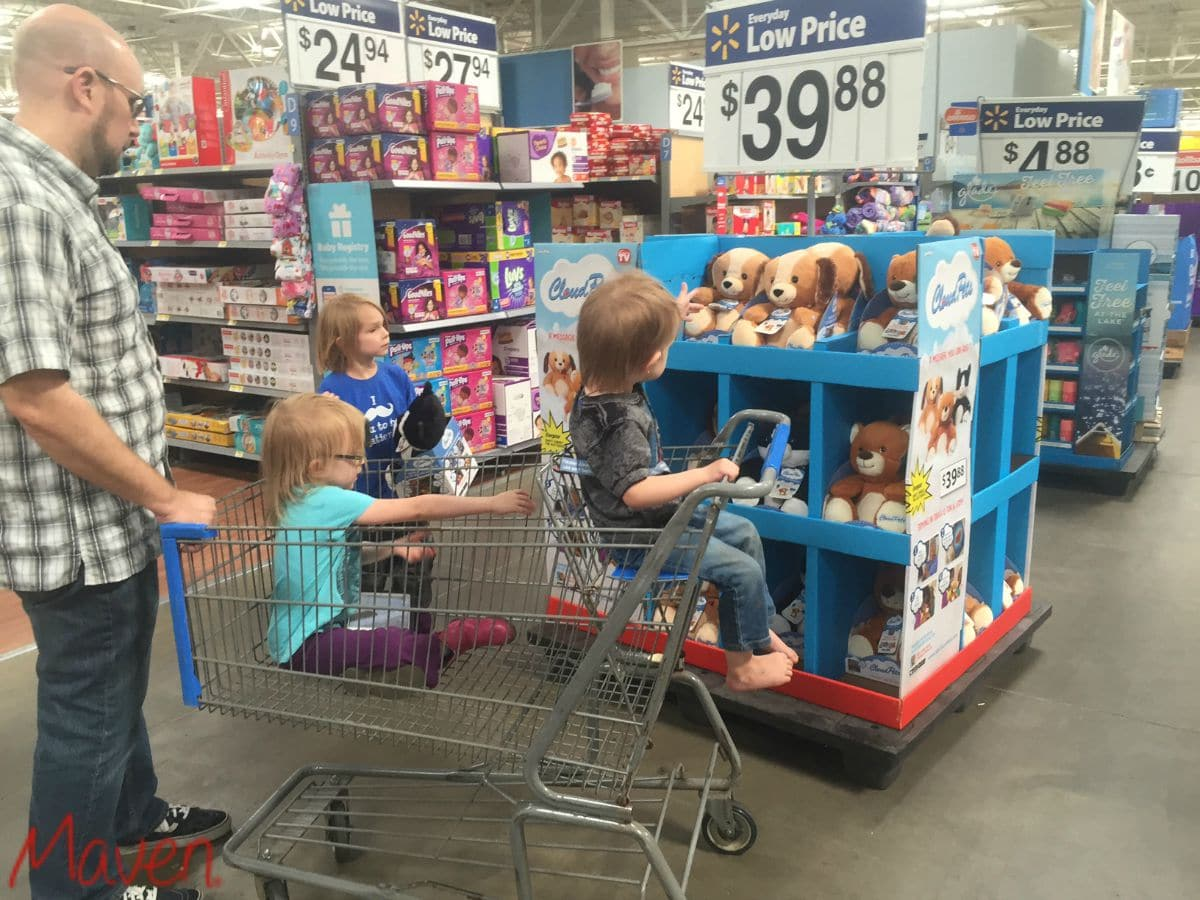 You can find CloudPets™ at Walmart #CloudPetsForever AD