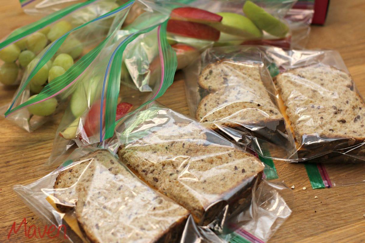 Packing Lunch with Ziploc® Brand #ZiplocBackToSchool #AD