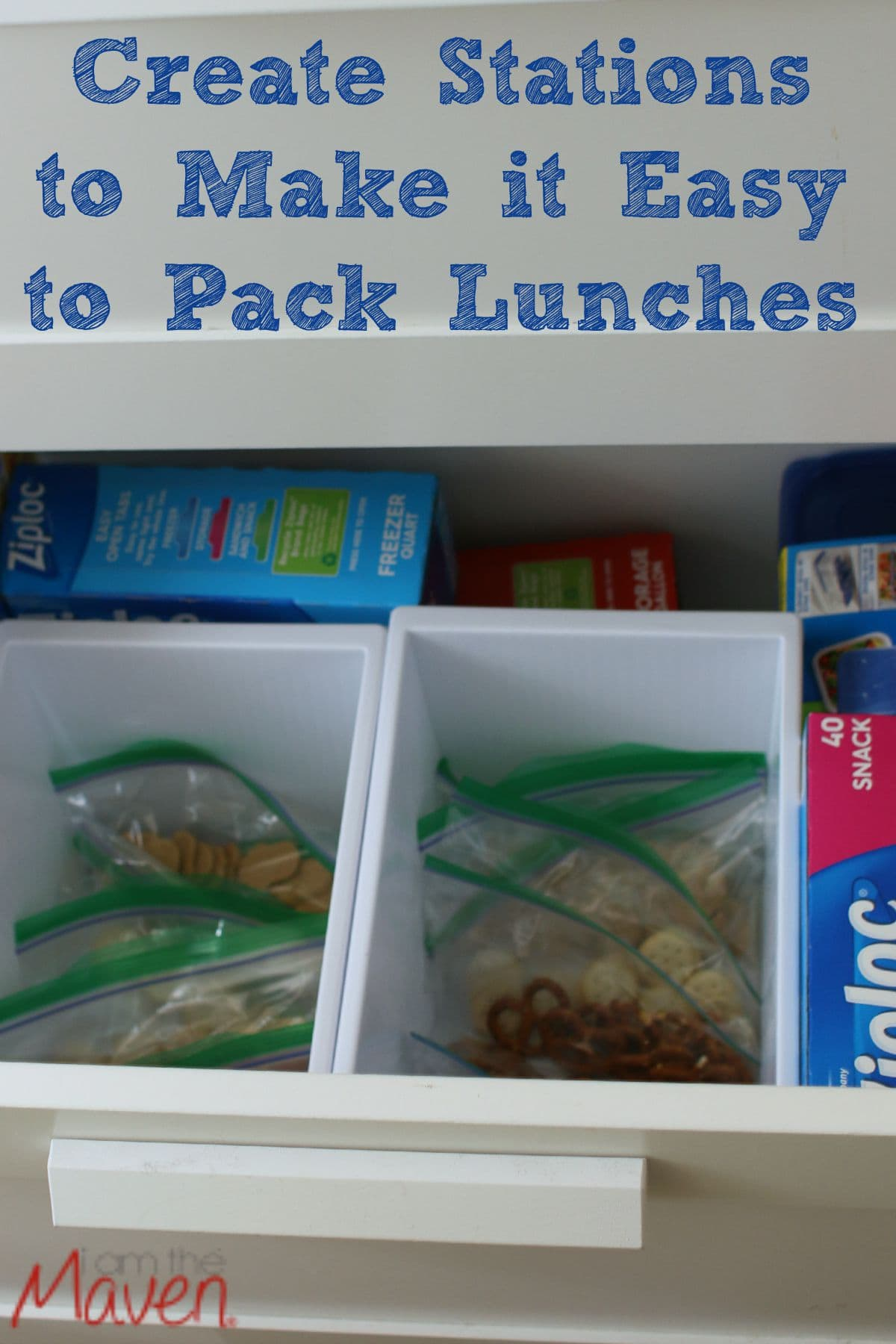 Ziploc® brand Makes It Easy to Pack Lunches #iZiplocBackToSchool #AD