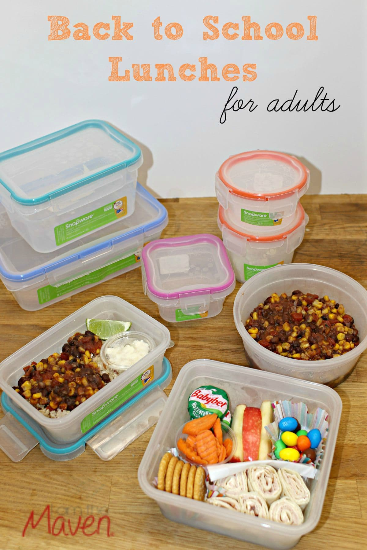 Forget the kids, what about back to school lunches for adults? AD