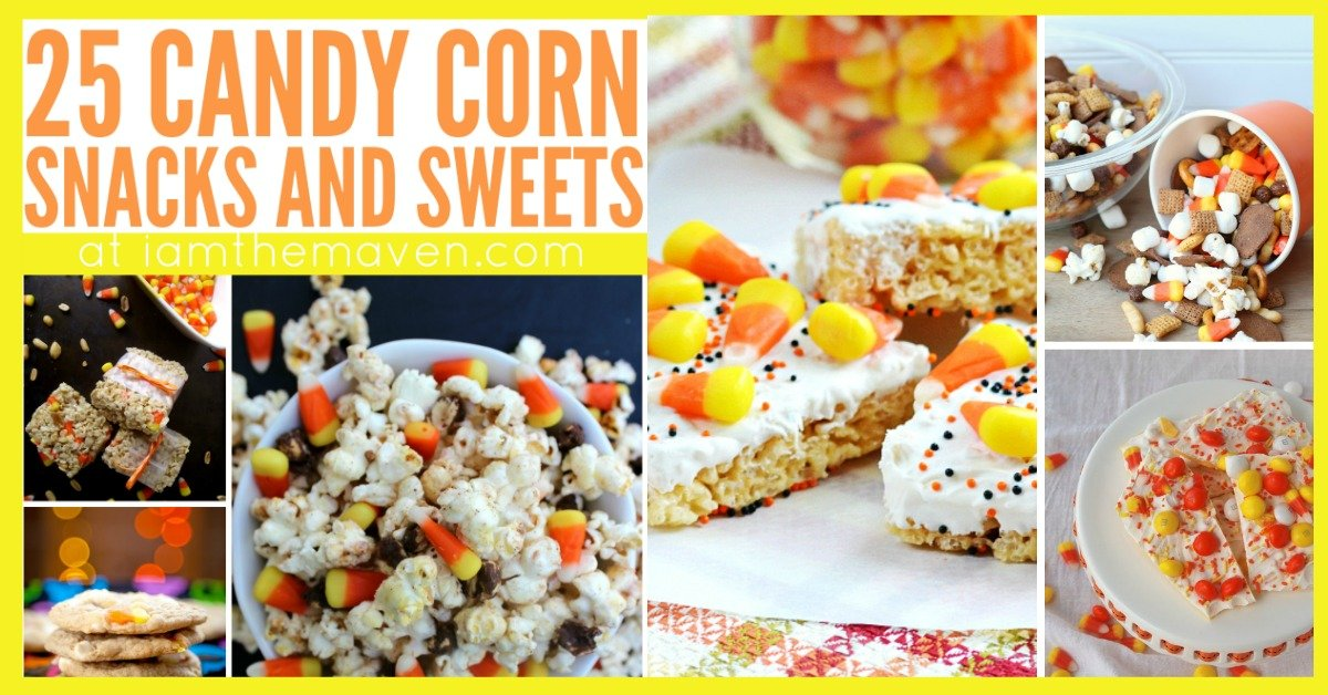 candy corn snacks