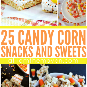Candy Corn Snacks and Sweets for you to Enjoy!