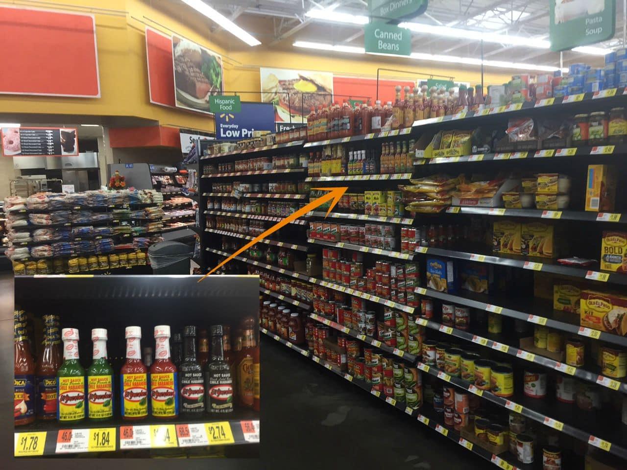 El Yucateco at Walmart #KingofFlavor AD